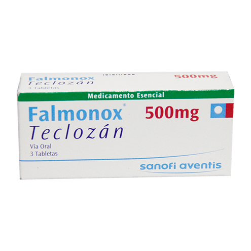Comprar Falmonox 500mg X 3 Tabletas