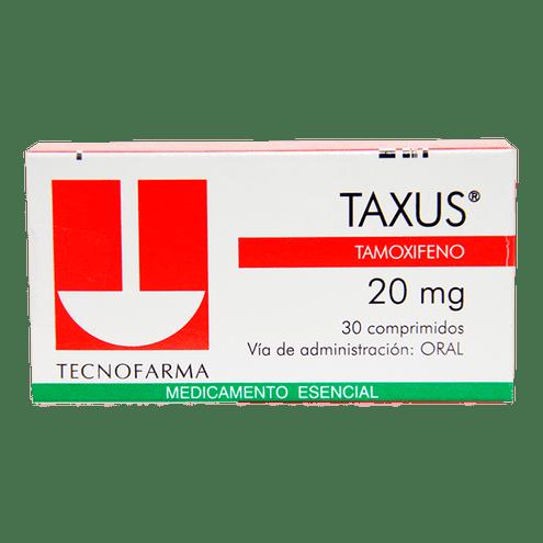 Comprar Taxus 20mg Caja X 30 Comprimidos