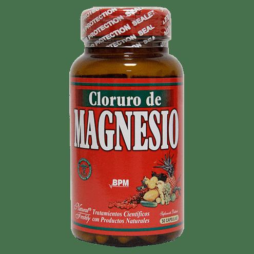 Comprar Cloruro De Magnesio Frasco X 50 Capsulas