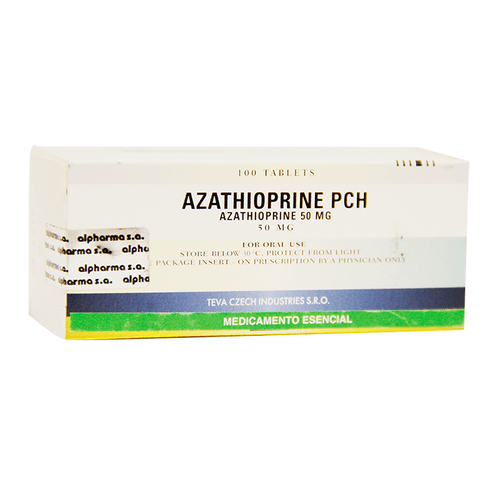 Comprar Azathioprine Pch 50mg X 100 Tabletas