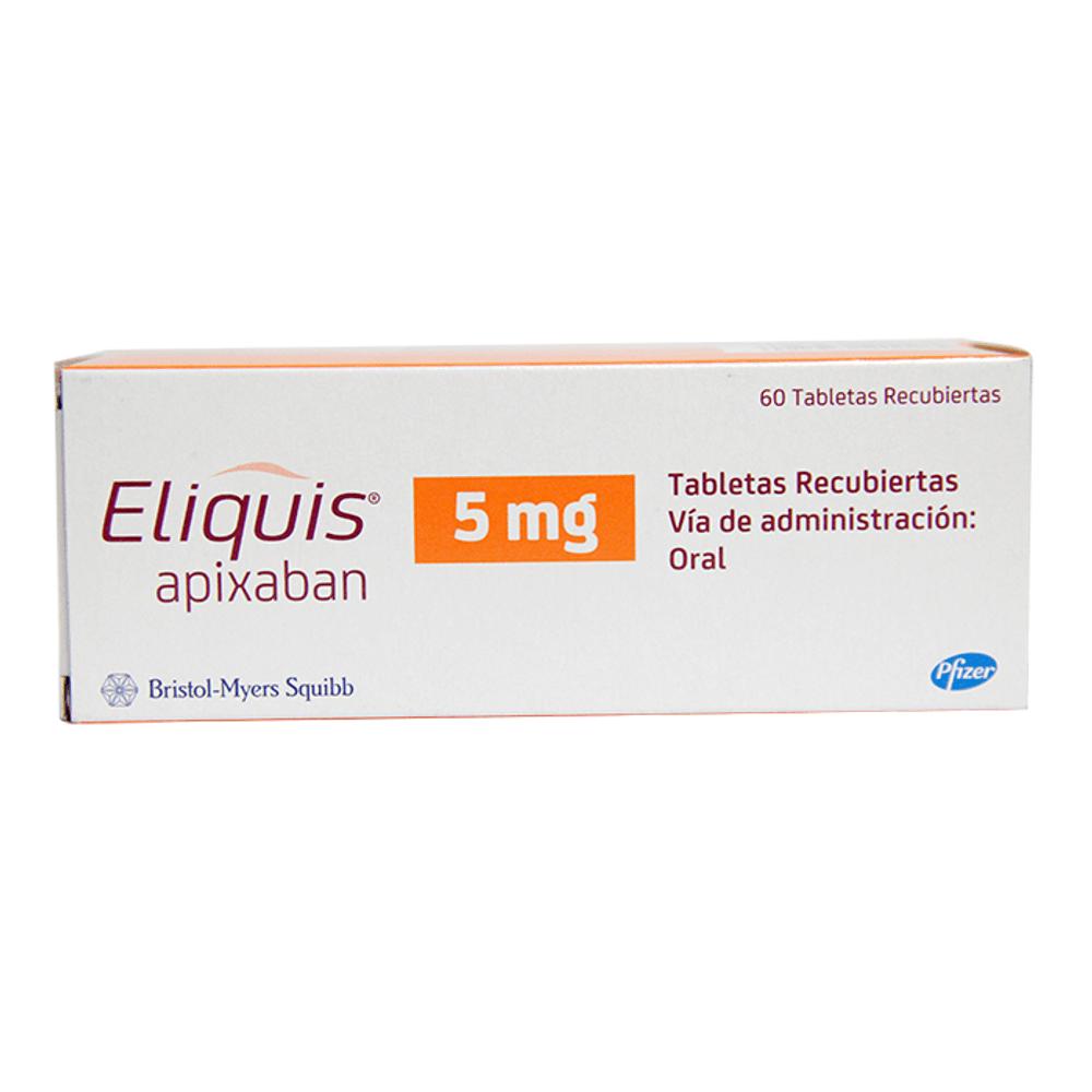 Resultado de imagen para Apixaban ®5 mg: