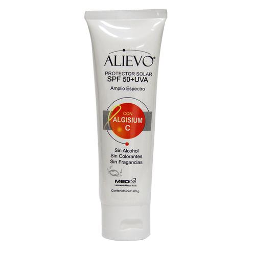 Comprar Protector Solar Alievo Con Algisium Uva Spf50 X 60gr