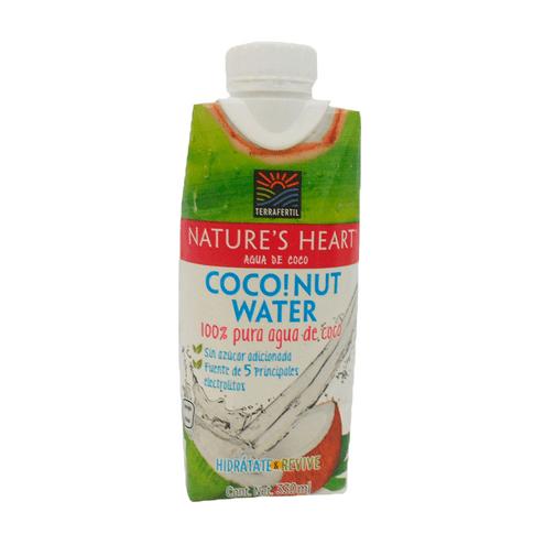 Comprar Agua Nature Heart Coco Sin Azucar X 330ml