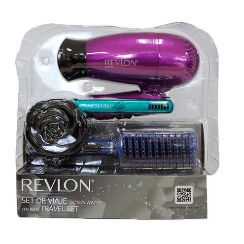 Comprar Kit Viaje Revlon Plancha/Secador/Cepillo