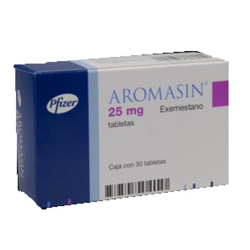 Comprar Aromasin 25mg X 30 Tabletas (Producto Regulado