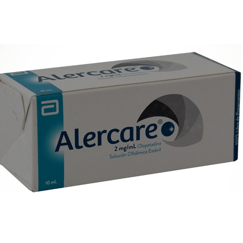 Comprar Alercare Solucion Oftalmica 2mg X 10ml