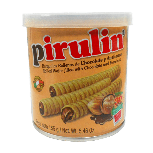 Comprar Barquillas Pirulin Choco/Avellana X 155gr