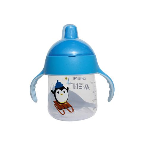 Comprar Vaso Avent Antigoteo Azul 12meses 260ml/9oz
