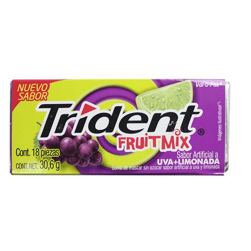 Comprar Chicle Trident Fruitmix X 30.6gr X 18und