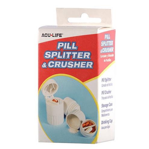 Comprar Acu-Life Pastillero Triturador Con Copa