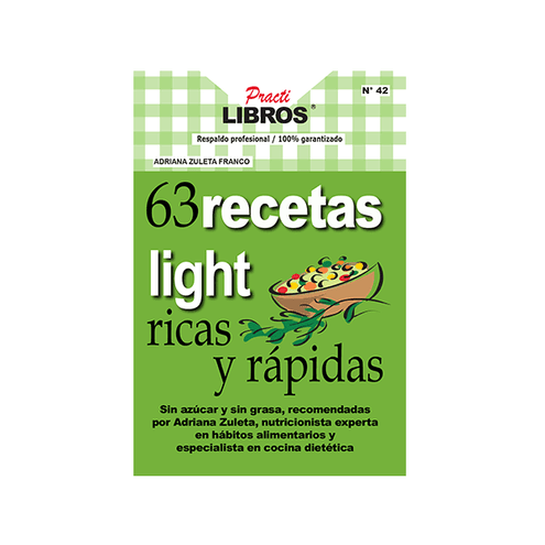 Comprar 63 Recetas Light Ricas Y Rapidas