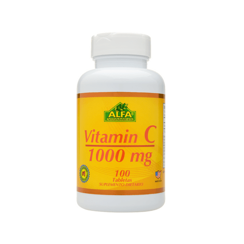 Comprar Alfa Vitamins Vitamin C 1000mg X 100 Tabletas