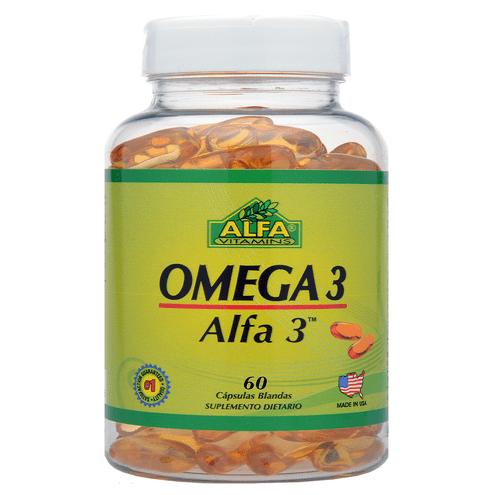 Comprar Alfa Omega 3 1000mg X 60 Capsulas