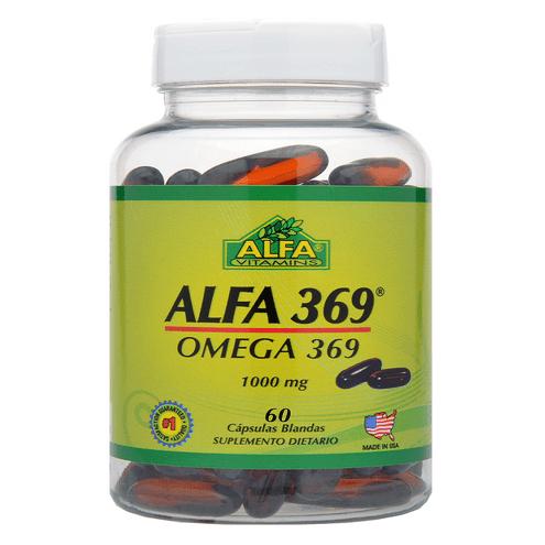 Comprar Alfa Omega 369 1000mg X 60 Capsulas
