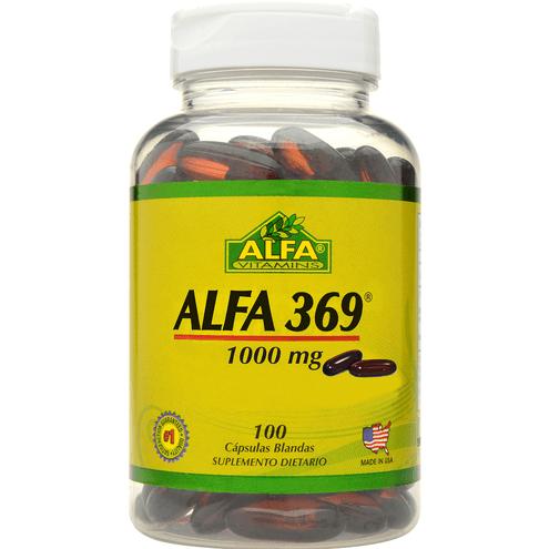 Comprar Alfa Vitamins Omega 369 X 100 Capsulas