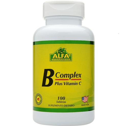 Comprar B Complex Alfa Vitamins X 100 Tabletas