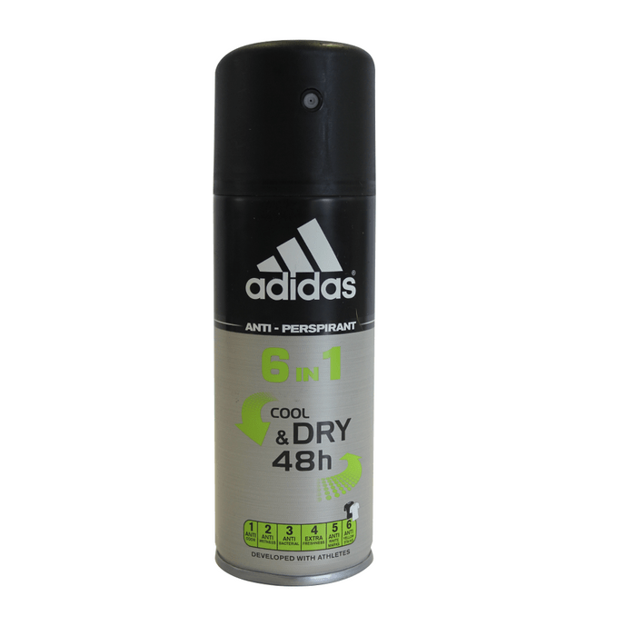 DESODORANTE ADIDAS 6 EN 1 SPRAY X 150ML