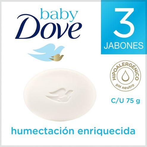 Comprar Jabón Dove Baby Humectación Enriquecida X 3 Und