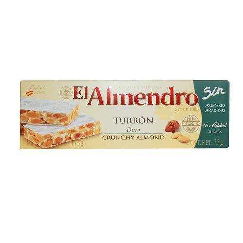 8410223906072-TURRON-EL-ALMENDRO-DURO-SIN-AZUCAR-X-75GR