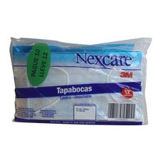 7702098038547-OF.TAPABOCAS-NEXCARE-DESECHABLE-X-12UND