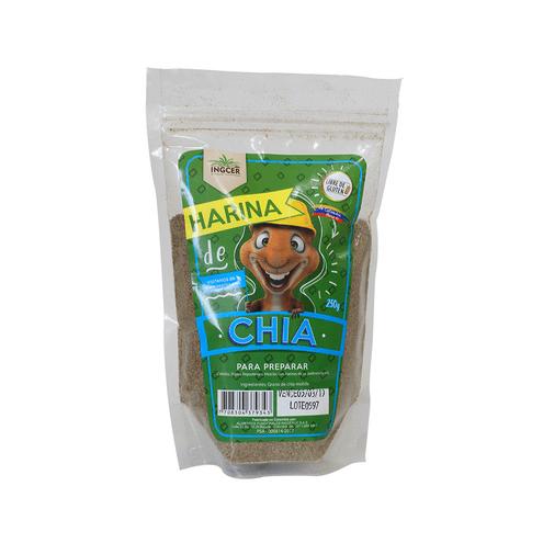Comprar Harina De Chia Ingcer Sin Gluten X 250gr
