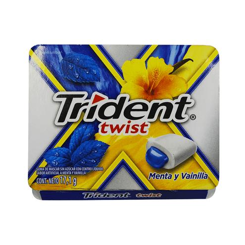 Comprar Chicles Trident Twist Menta Vainilla X 17,1gr