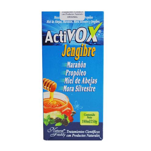 Comprar Activox Jarabe Jengibre X 180ml