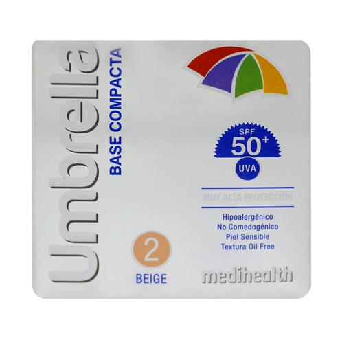 Comprar Base Compacta Umbrella Spf50 2 Beige