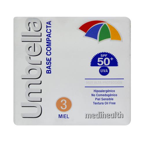 Comprar Base Compacta Umbrella Sp F50 3 Miel