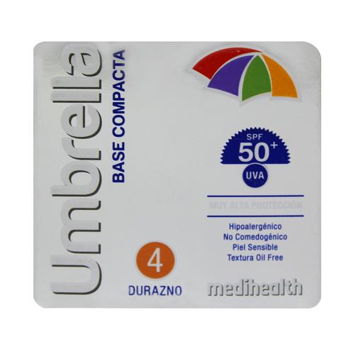 Comprar Base Compacta Umbrella Spf50 4 Durazno