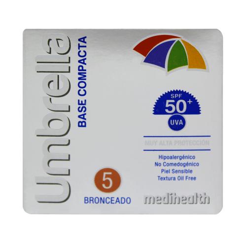 Comprar Base Compacta Umbrella Spf50 5 Bronceado