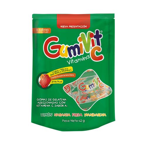 Comprar Gumivit Vitamina C En Gomas X 6 Sobres