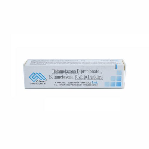 Comprar Betametasona Fosfato + Dipropionato Caja X 1 Ampolla