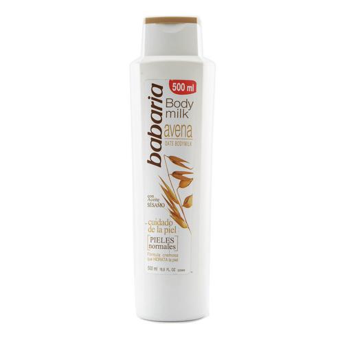 Comprar Crema Corporal Babaria Body Milk Avena X 500ml