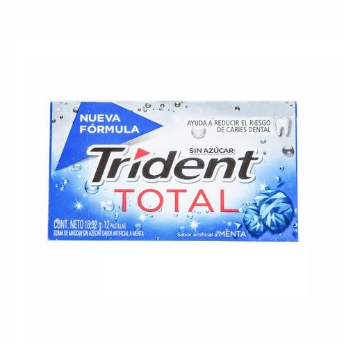 Comprar Chicle Trident Total Menta X 12und