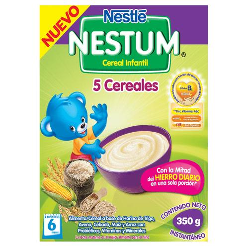 Comprar Cereal Nestum 5 Cereales 6m X 350gr