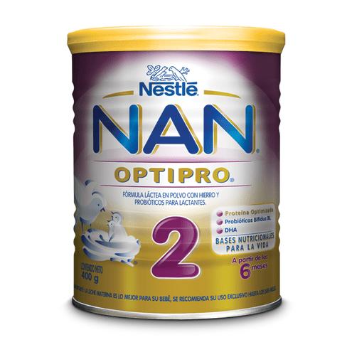 Comprar Formula Infantil Nan Optipro Etapa 2 De 6-12m X 400gr
