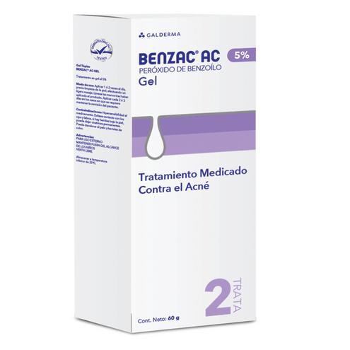 Comprar Benzac Ac Gel Facial Antiacne X 5% X 60gr