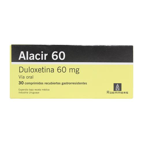 Comprar Alacir 60mg X 30 Comprimidos