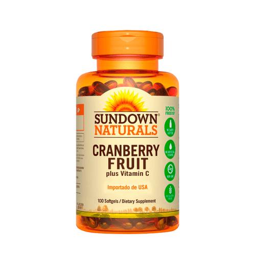 Comprar Cranberry Fruit Plus Sundown Naturals Vitamina C X 100 Capsulas
