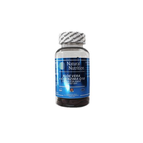 Comprar Aloe Vera + Coenzima Q10 Natural Nutrition X 60cap