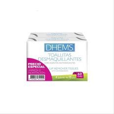 7707208611412_OFERTA-TOALLAS-DESMAQUILLANTES-DHEMS-ANTIOXIOXIDANTE-X-60UND
