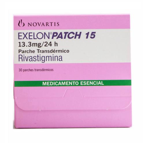 Comprar Exelon Patch 15 De 13.3mg/24h Caja X 30 Parches
