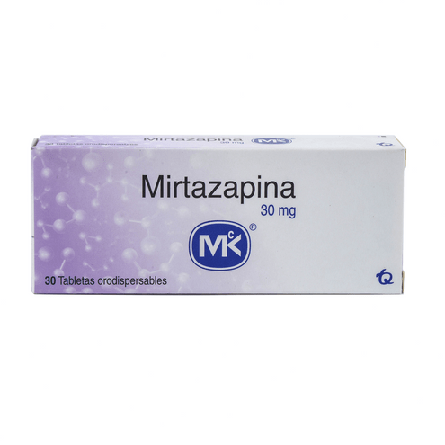 Comprar Mirtazapina Mk 30mg X 30 Tabletas