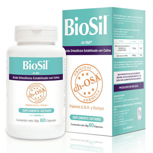 Comprar Biosil Generador De Colageno Frasco X 60 Capsulas