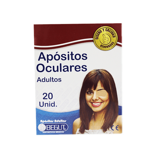 Comprar Apositos Begut Adulto Oculares X 20 Und