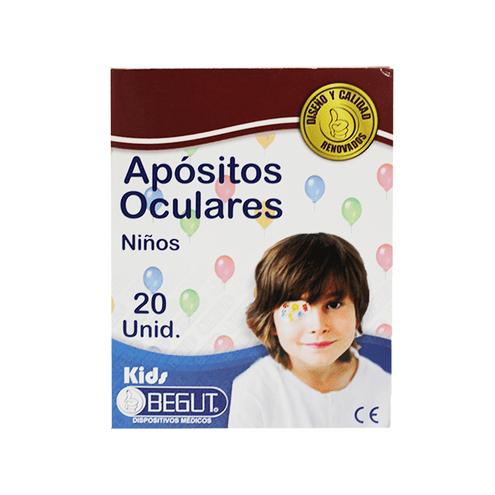 Comprar Apositos Begut Niño Oculares X 20 Und