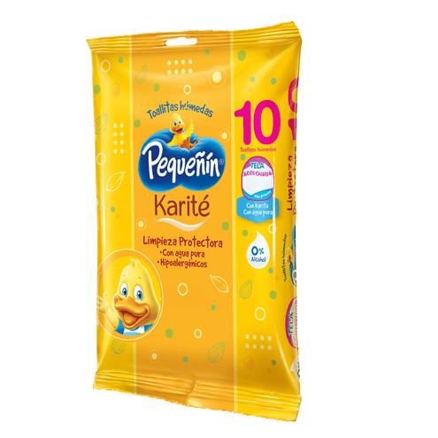 Comprar Pañitos Humedos Pequeñin Karite X 10und