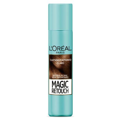 Comprar Spray Retocador De Raíz L'oréal Magic Retouch Castaño Claro X 75 Ml