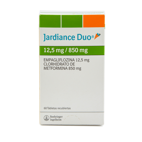 Comprar Jardiance Duo 12.5/850mg X 60 Tabletas